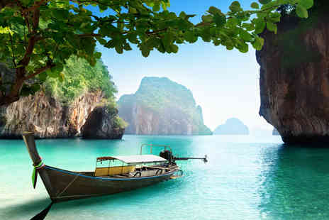 Centara Hotels and Resorts - Seven or ten nights in Thailand with breakfast, return transfers and a massage for two - Save 84%