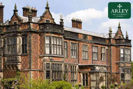 Arley Hall & Gardens - Family entry for two adults and up to three children to Arley Hall & Gardens - save up to 52% - Save 52%