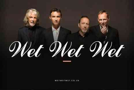 Cuffe and Taylor - Ticket to see Wet Wet Wet perform Concerts by the Lake on Friday 29th July 2016 - Save 44%
