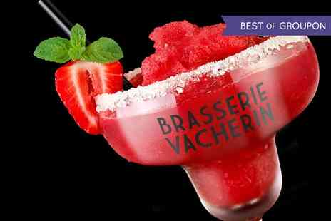 Brasserie Vacherin Croydon - Three or Six Cocktails for two - Save 47%