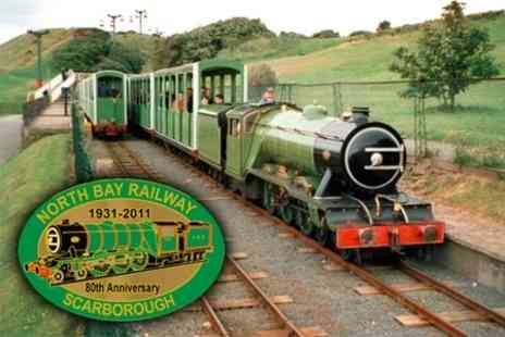 North Bay Railway - Family Train Ride, Boating and Water Chute Day Out for £9 - Save 62%