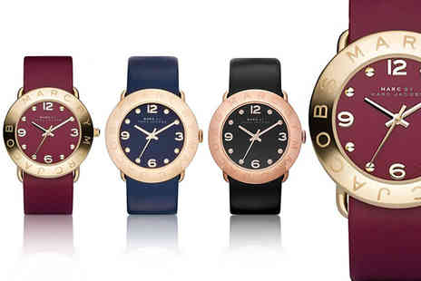 Gray Kingdom - Marc by Marc Jacobs leather quartz watch choose black, red or blue - Save 59%