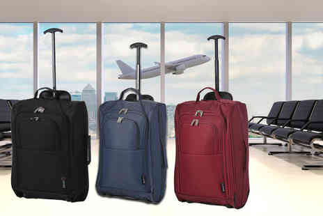 Luggage Travel Bags - Cabin sized carry on luggage bag choose your design - Save 60%