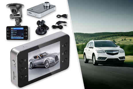 EF Mall - 2.7 inch full HD 1080p car camera video recorder - Save 83%