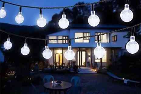 EF Mall - Set of LED outdoor and indoor bubble light bulbs choose white or coloured - Save 75%