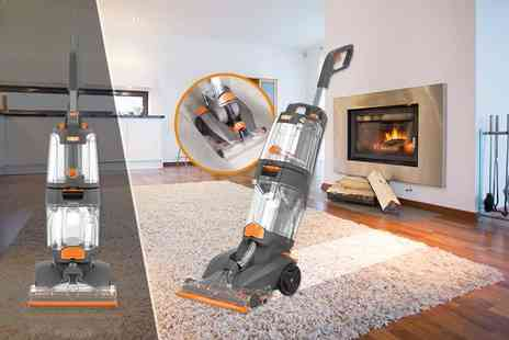Direct Vacuums - Refurbished VAX dual power pro upright carpet cleaner - Save 80%