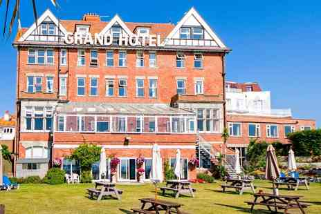 The Grand Hotel - Dorset Beachfront Afternoon Tea & Bubbly for 2 - Save 37%