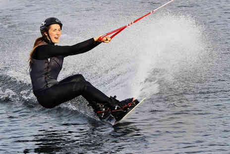 Wakelake - Beginners wakeboarding session - Save 50%