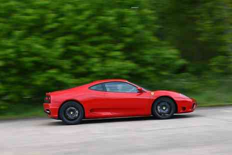 Ferrari 360 F1 - Junior Ferrari Driving Experience in a Ferrari 360 in August, September or October - Save 62%
