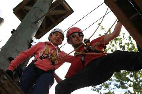 Aerial Extreme - Adventure Course Ticket for an Adult or Child at a Choice of Five Locations - Save 41%