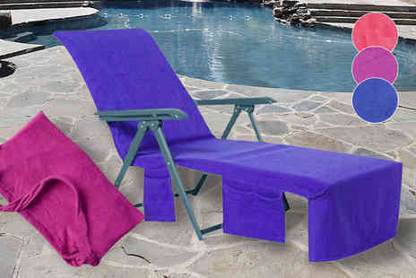 Eblacksquare - Towel Lounger Bag in 3 Colours - Save 63%