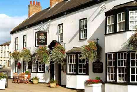 Best Western Crown Boroughbridge Hotel - Yorkshire Market Town Stay for 2 with Dinner - Save 25%