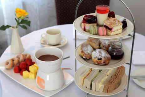 BEST WESTERN Grosvenor Hotel - Deluxe afternoon tea for two including Pimms and chocolate fondue - Save 40%
