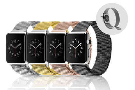 Kendor Van Noah - Milanese stainless steel loop Apple compatible watch band choose from four colours - Save 56%