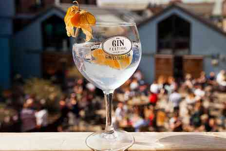 Gin Festival - Entry to Gin Festival, 28 August or 4 September - Save 41%