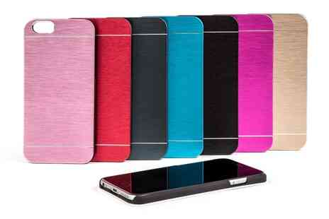 Groupon Goods Global GmbH - Aluminium Case for iPhone 5, 5S or 6 in Choice of Colour - Save 0%