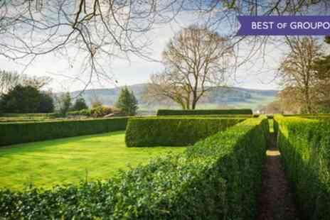 Tyddyn Llan hotel - One to Three Nights Stay for 2 with Breakfast and 6 Course Tasting Menu in Michelin Star Restaurant - Save 38%