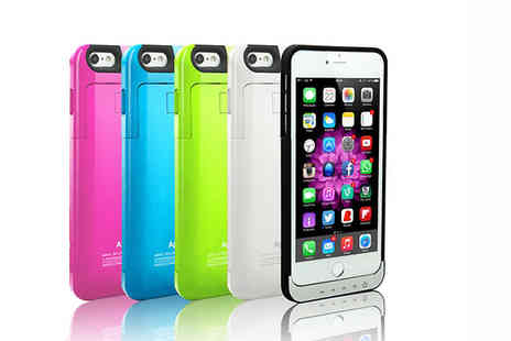 Ledplusmore - iPhone Charger Case in 5 Colours - Save 57%