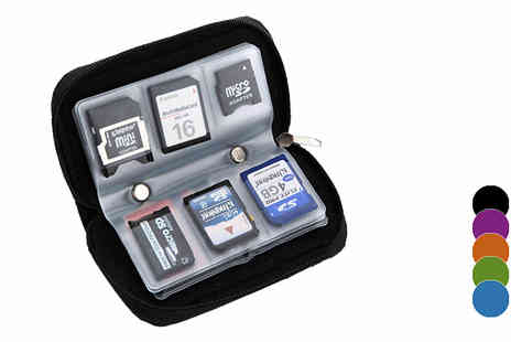 iThink Gadgets - Memory Card Case in 5 Colours - Save 80%