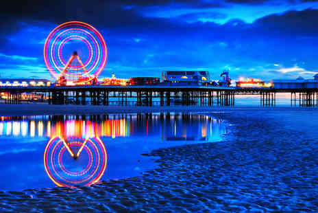 SuperBreak - Blackpool trip including welcome drink, breakfast and entry to Star Trek exhibition - Save 0%