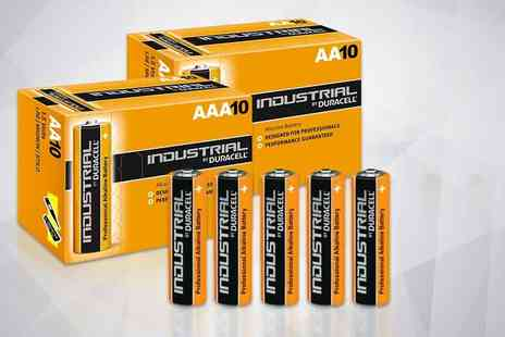 TLD Marketing - 10 Duracell AA or AAA batteries - Save 73%
