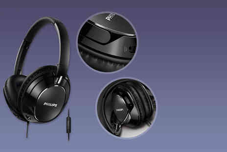 Electronics and Gadgets Direct - Pair of black Philips headphones - Save 57%