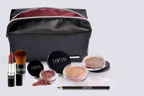 Sampure - Premium seven piece mineral makeup kit - Save 71%