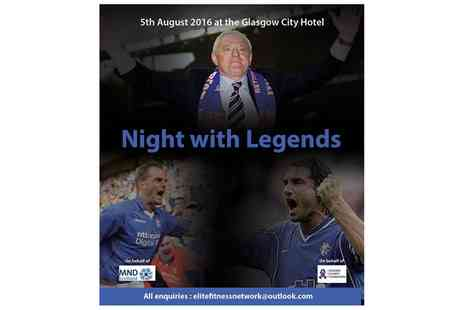 Night with the Legends - Rangers Legends Night on 5 August - Save 42%