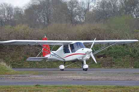 Membury Flying Club - 60 Minute Microlight Flying Lesson for One or a 90 Minute Lesson for Two with Membury Flying Club - Save 0%
