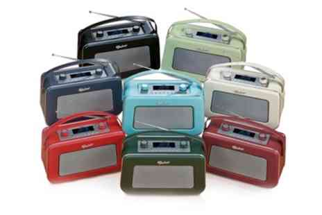 Groupon Goods Global GmbH - Vintage Design DAB Or FM Digital Radio in Choice of Colour With Free Delivery - Save 53%