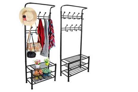 Ricomex UK - Multi function shoe and coat rack - Save 64%