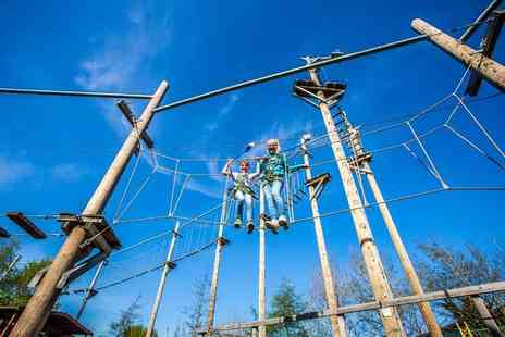 Altitude High Ropes Adventure - Ticket for one adult and one child to Altitude High Ropes Adventure - Save 52%