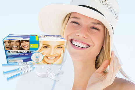 Trending Picks - Celebrity Smile home teeth whitening kit including 0.1% carbamide peroxide - Save 87%