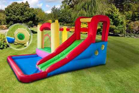 Ebuyer - Wet and dry blow up outdoor play area - Save 0%
