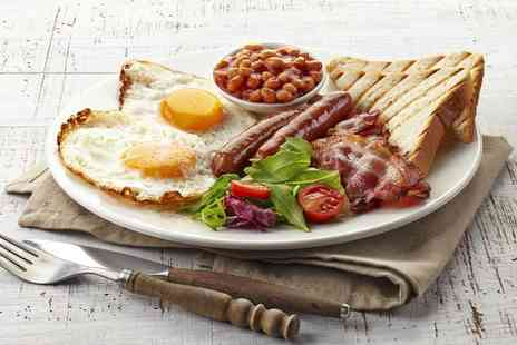 Solo Kitchen - Choice of Breakfast with Tea or Coffee for One or Two - Save 52%