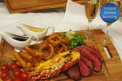 Nira Caledonia - Chateaubriand and Whole Scottish Lobster with Fizz or Champagne for Two or Four - Save 0%