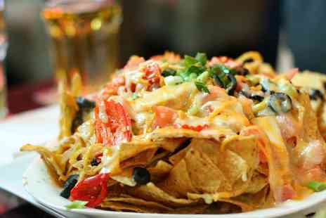 Nachos Mexican Restaurant - Mexican Main Course with Beer or Wine for Two or Four - Save 49%
