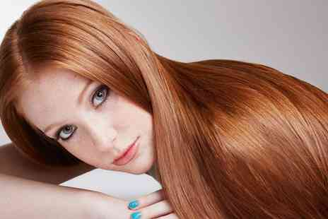 E Scissorhands - Wash, Cut, Blow Dry and Conditioning or Highlights - Save 68%