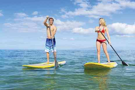St Ives Boat Rides - One Hour Paddleboarding Session for Up to Two - Save 42%