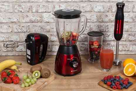 Groupon Goods Global GmbH - Hotpoint Three Piece Mixer and Blender Set - Save 57%