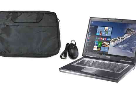 CFA TRADING - Refurbished Dell Latitude D531 Windows 10 4GB RAM 80GB or 500GB HDD Dual Core 2GHz With Accessories - Save 0%