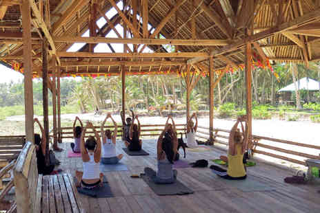 Zimba Yoga - Six night Siargao Island yoga immersion retreat  in the Phillipines, including accommodation, transfers and breakfast - Save 41%