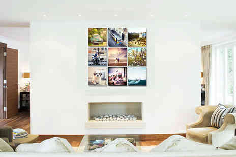 "Picture Perfect Canvas Prints - 12"" x 12"" or 16"" x 16"" personalised Instagram canvas - Save 88%"