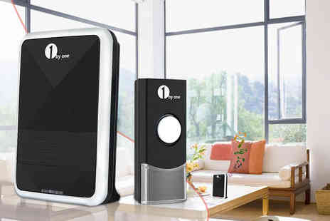 1byone - Wireless doorbell kit - Save 67%