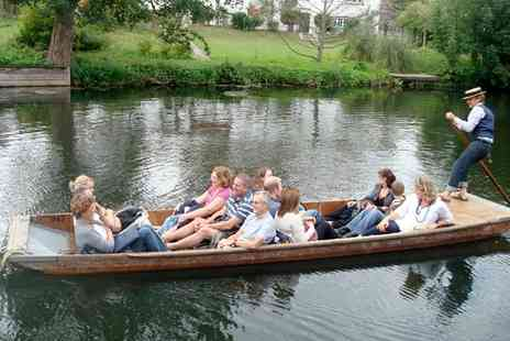 Lets Go Punting - Cambridge Punting Shared Tour For Two or Four - Save 0%