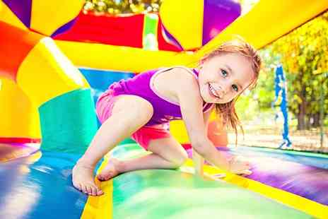 Ice Play Ent - Bounce for Blounts, 20 and 27 August at Midday, Two Locations - Save 0%
