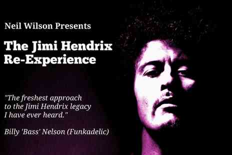 The Jimi Hendrix Re-Experience - One Ticket to Jimi Hendrix Re Experience The New Rising Sun Tour, 6 August - Save 33%