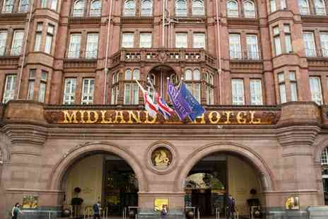The Midland Hotel - Afternoon Tea with a Glass of Prosecco for Two - Save 36%