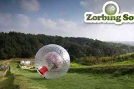Zorbing South - Zorbing For Two - Save 65%