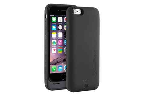 Groupon Goods Global GmbH - CasePower iPhone 6 Or 6S MFI Approved Battery Case - Save 62%